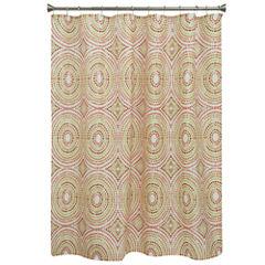 Bacova Guild Mosaic Circles Shower Curtain