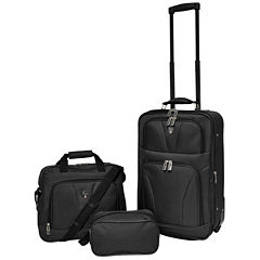 Travelers Club Eva 3-pc. Boarding Luggage Set