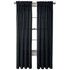 Royal Velvet® Hilton Rod-Pocket Curtain Panel
