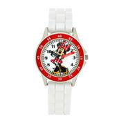 Boys White Strap Watch-Mn1160jc