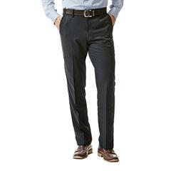 Haggar® Performance Microfiber Flat-Front Pants - Big & Tall