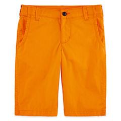 Arizona Stretch Poplin Chino Shorts - Boys 8-20 and Husky