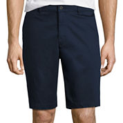 Claiborne Cotton Chino Shorts