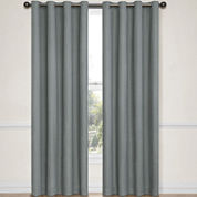 Eclipse® Emery Grommet-Top Blackout Curtain Panel with Thermaback