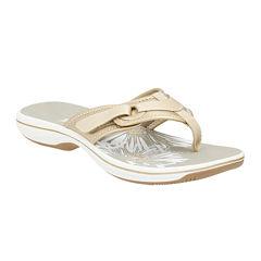 Clarks® Breeze Mila Comfort Flip Flops