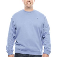 IZOD Pullover Crew Fleece -  Big & Tall