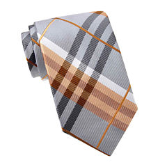 Stafford® Casey Jones Plaid Tie