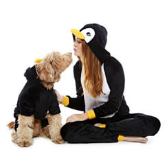 Penguin One Piece Pajama and Dog Costume