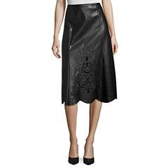 Worthington Faux Leather Skirt