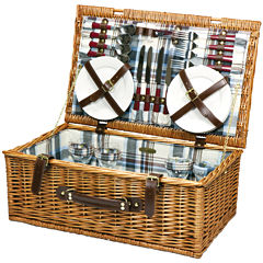 Picnic Time® Newbury Picnic Basket for Four