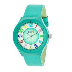 Crayo Unisex Blue Strap Watch-Cracr3505