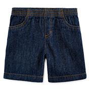 Okie Dokie® Denim Shorts – Baby Boys newborn-24m