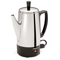 Presto® 6 Cup Stainless Steel Percolator