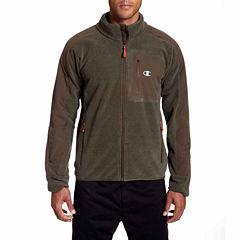 Champion® Mock Neck Textured Fleece