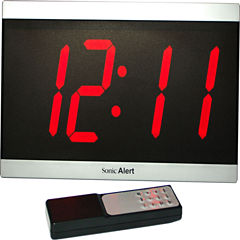 Sonic Alert SA-BD4000 Big Display Maxx Alarm Clock
