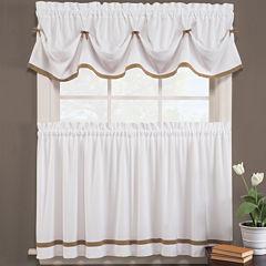 Kate Rod-Pocket Kitchen Curtains