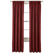 Home Expressions™ Beckley Blackout Rod-Pocket Curtain Panel