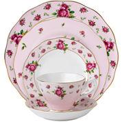 Royal Albert® Pink Vintage 5-pc. Bone China Dinnerware Set