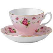Royal Albert® Pink Vintage Teacup & Saucer Set