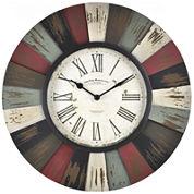 FirsTime® Reclaimed Burst Wall Clock