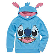 Girls Lilo & Stitch Hoodie-Big Kid