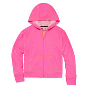 Xersion Solid Zip Hoodie - Girls 7-16 and Plus