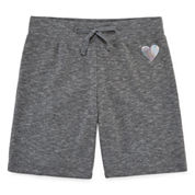 Xersion French Terry Bermuda Shorts - Big Kid Girls