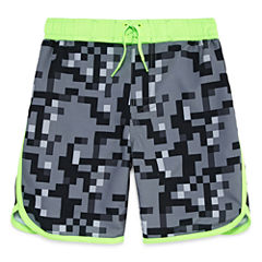 Arizona Boys Camouflage Swim Trunks-Preschool