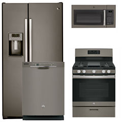 GE® 4-pc. Gas Kitchen Package