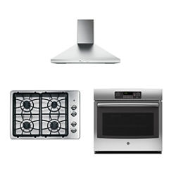 GE® 3-pc. Gas Kitchen Package