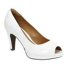 Clarks® Narine Rowe High-Heel Pumps