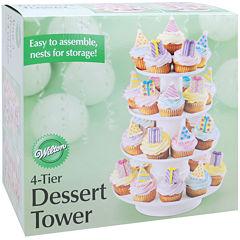 Four-Tier Dessert Tower