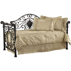Charlotte Metal Scrollwork Daybed with Trundle Option