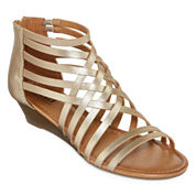 a.n.a Gilly Womens Wedge Sandals