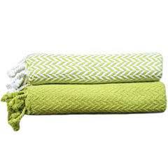 Monacco 100% Cotton Throw