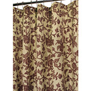 Park B. Smith® Floral Swirl Fabric Shower Curtain