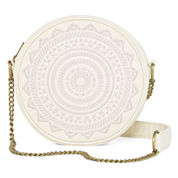 T-Shirt and Jeans™ Embroidered Canteen Crossbody Bag