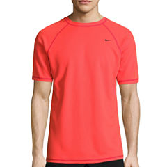 Nike Solid Short Sleeve Swim Tee 40+ UPF Protection