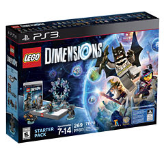 Lego Dims Starter Pack Video Game-PS3