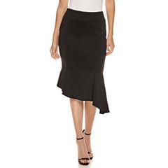 Bisou Bisou Asymmetrical Skirt