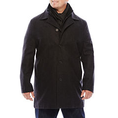 JF J. Ferrar® Double Knit-Collar Men's Jacket - Big & Tall