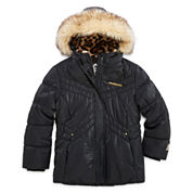 Zero Xposure Girls Heavyweight Puffer Jacket-Big Kid