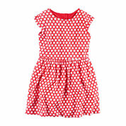 Carter's Long Sleeve A-Line Dress - Toddler
