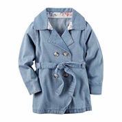 Carter's Girls Denim Jacket-Toddler