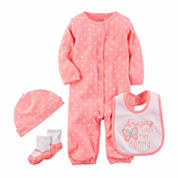 Carter's Girls 4-pc. Layette Set-Baby
