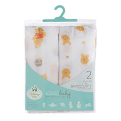 Ideal Baby 2-pc. Winnie the Pooh Swaddle Blanket