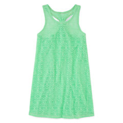 Total Girl Girls Solid Dress-Big Kid