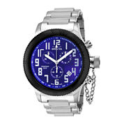 Invicta® Russian Diver Mens Blue Dial Stainless Steel Chronograph Sport Watch 15560