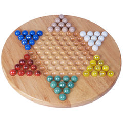 Chinese Checkers with Marbles