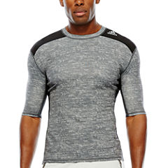 adidas® Techfit Short-Sleeve Compression Shirt